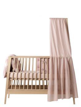 Himmel til Linea babyseng, Soft pink