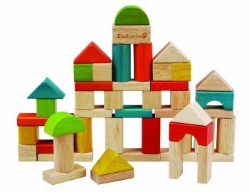 Træ byggeklodser